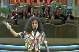 Giulia Guido canta a Sanremo 1993