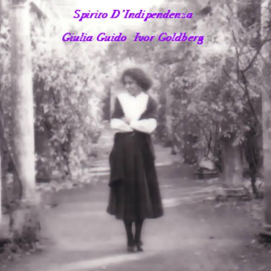 Copertina dell'Album, Spirito di indipendenza di Giulia Guido e Ivor Goldberg